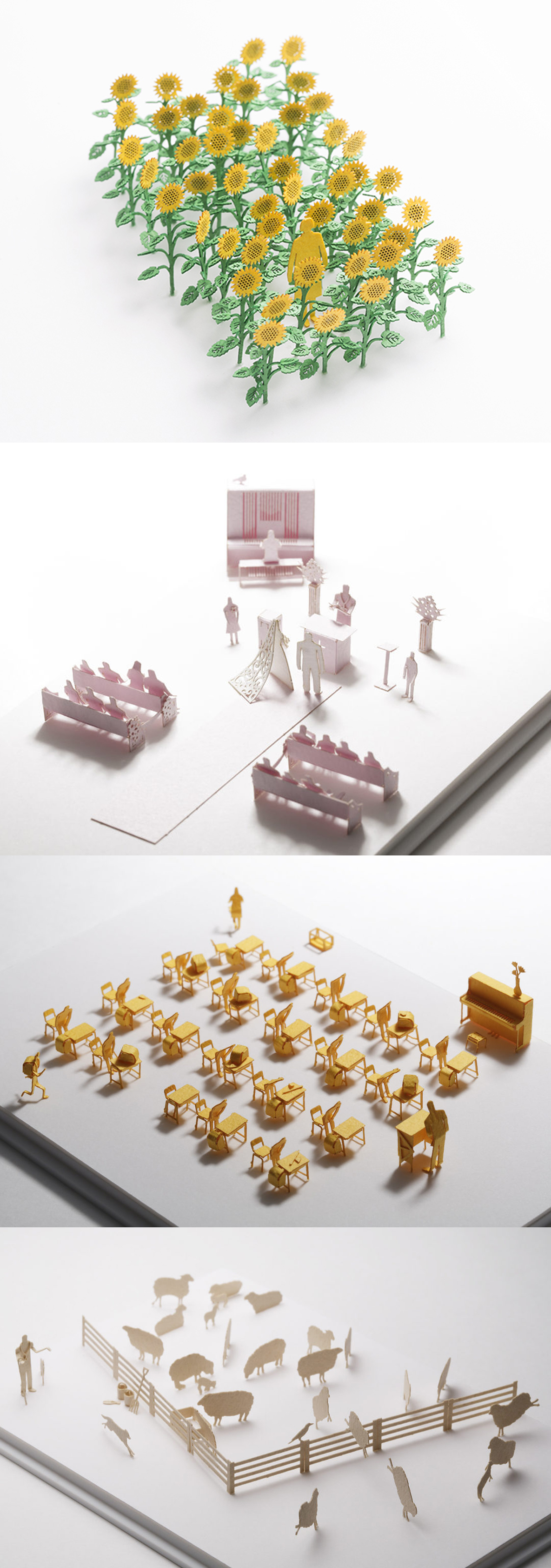 策展人:每个配件都富有想象力,配合上精致的细节,恰似一场设计的寻梦之旅。 - 这些建筑模型配件设计考究。每个部件的布局都经过精心设计,以便让您在整个组装的过程中都能感受到无尽的兴奋。