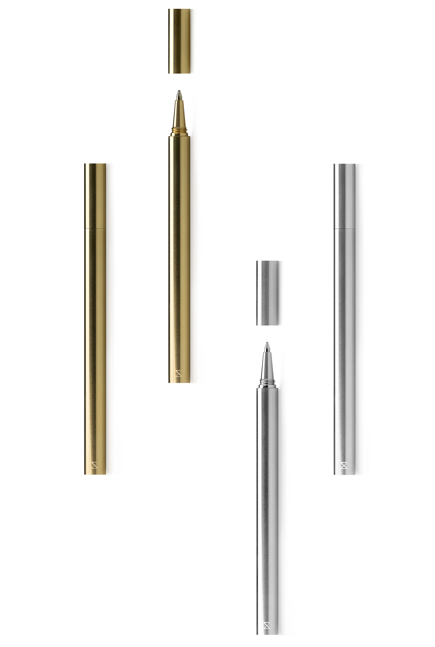 Curator: there is nothing to distract you from the beauty of the material and the quality of craftsmanship. - The pen and cap is precision machined from a single bar of solid brass or aluminium.