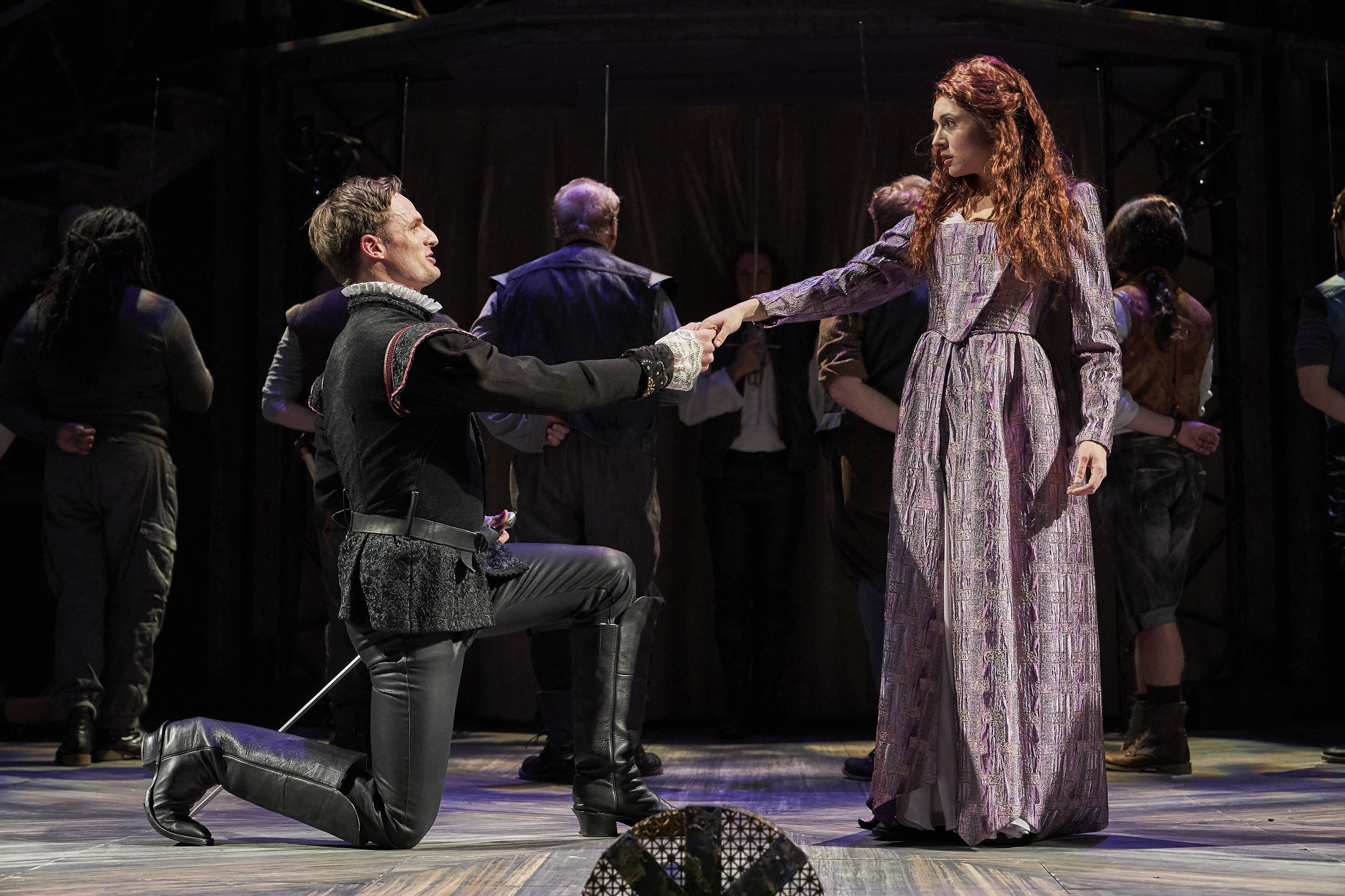 Shakespeare in Love-  Lord Wessex- Cleveland Play House  Photo by Roger Mastroianni, Courtesy of Cleveland Play House