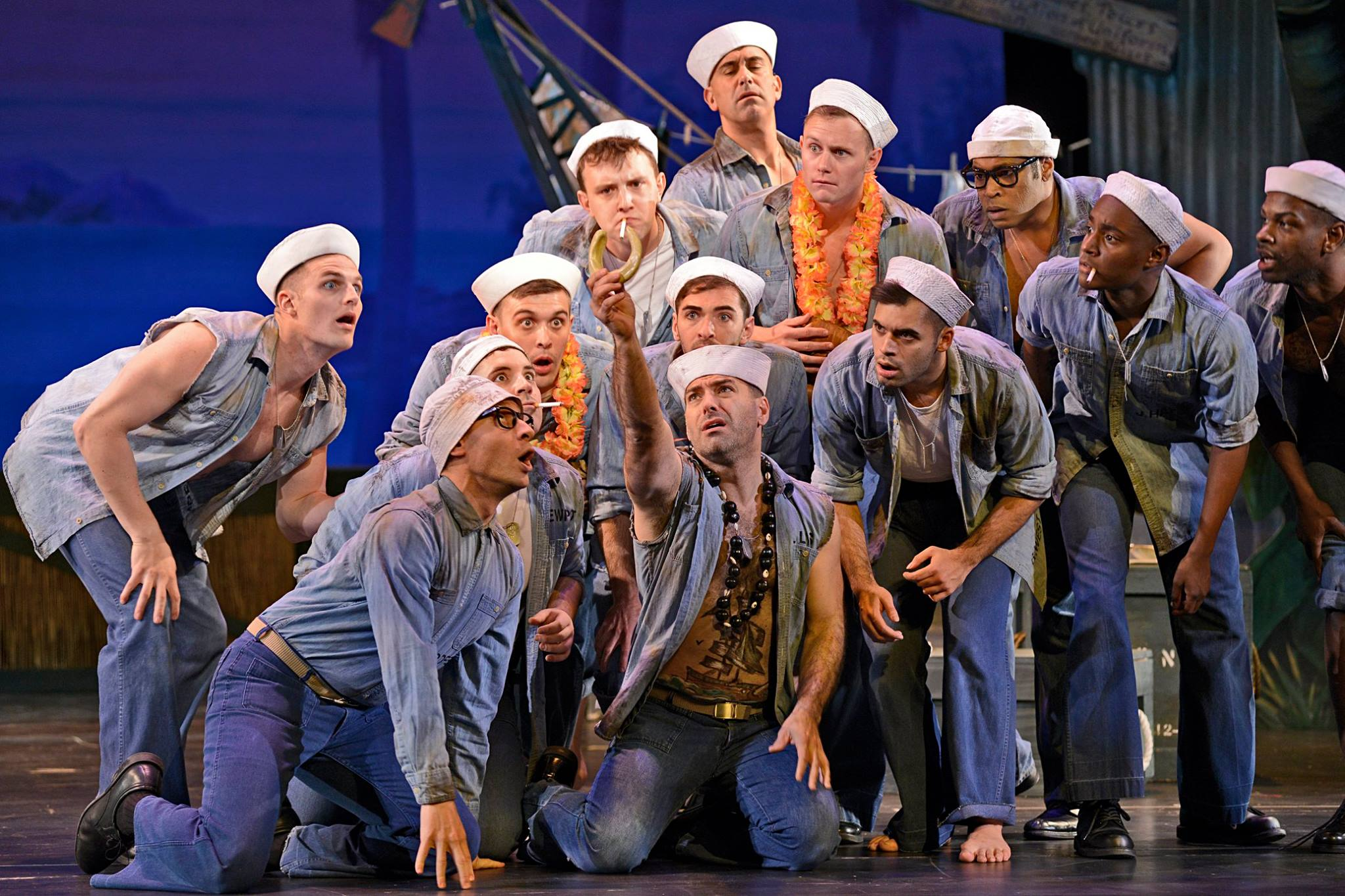 (Far Left)  South Pacific - Thomas Hassinger- Musical Theatre West