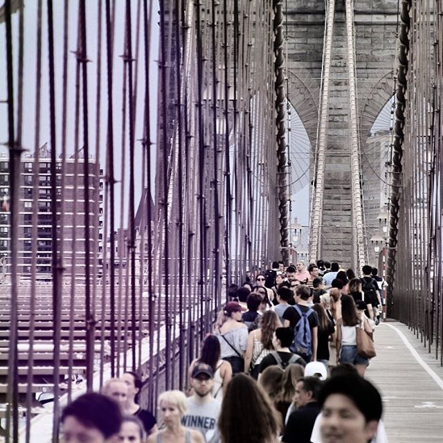 •out and about!• #brooklynbridge