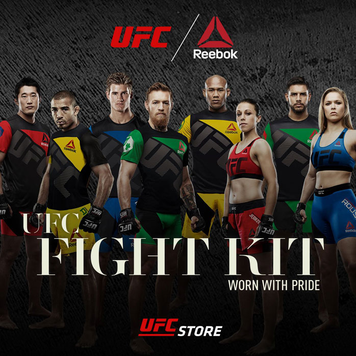 In 2015, the UFC partnered with Reebok to institute a uniform policy for its athletes.