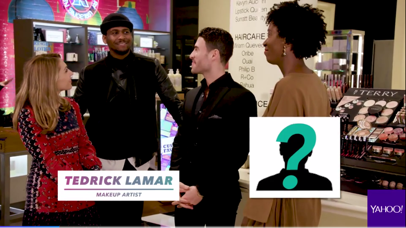 """YAHOO.COM  Tedrick LaMar featured in """"Last-minute Valentine's Day gift ideas you can shop from the comfort of home"""""""