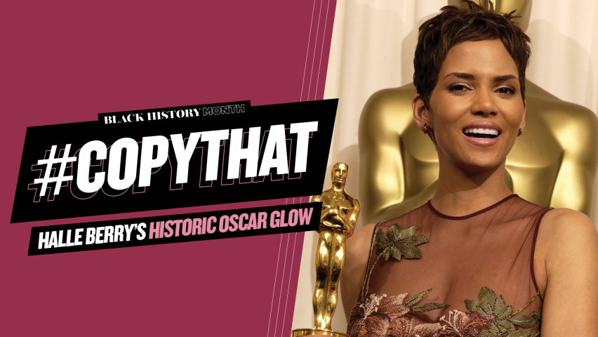 """YAHOO.COM  Tedrick LaMar featured in """"Halle Berry's historic Oscar glow was all about highlighting her brown eyes"""""""