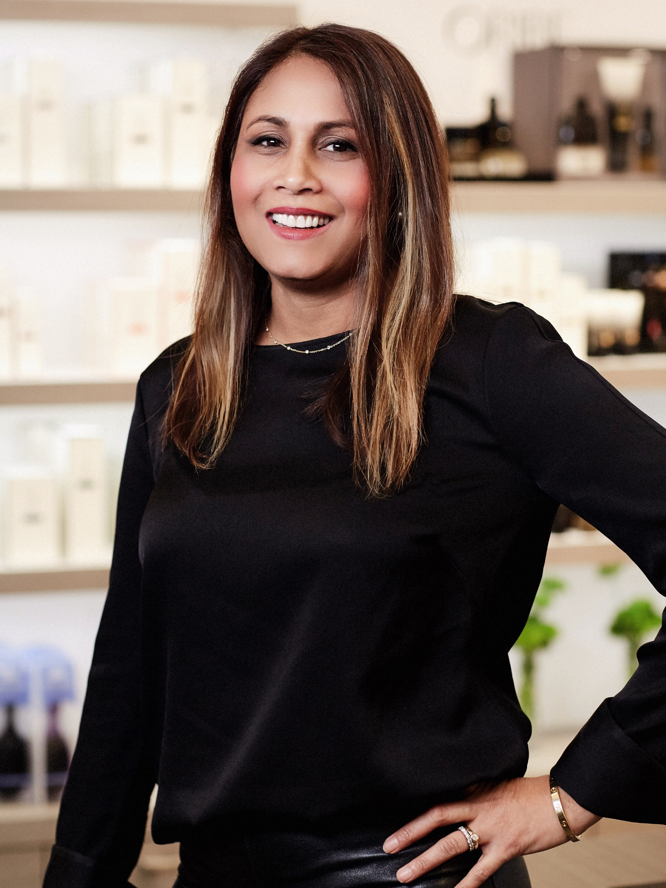 """TARA   Featured in  Allure  as one of """"New York City's Best Kept Secrets,"""" Tara is a master colorist and senior educator at Butterfly Studio Salon. Tara has worked at Butterfly Studio Salon for 18 years and has worked in the beauty industry for 22. Known for her less-is-more aesthetic, Tara loves color transformation and guiding her clients in the right direction, whether that's natural highlights or color correction. She is also a master in Japanese Hair Straightening, having served as a Milbon educator for 15 years. She loves offering this service to transform hair texture into a silky, and shiny finish and clients have reported post-service that the Japanese straightening treatment has changed their lives, making their hair more manageable.   @tarasookdeocolorist"""