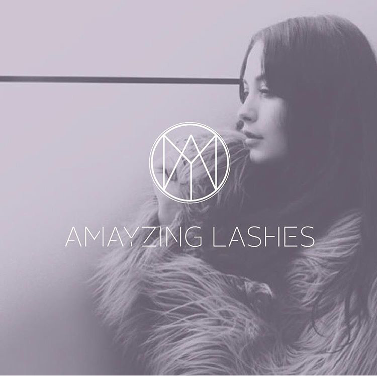 AMAYZING LASHES  WEBSITE DESIGN / LOGO  VIEW WEBSITE