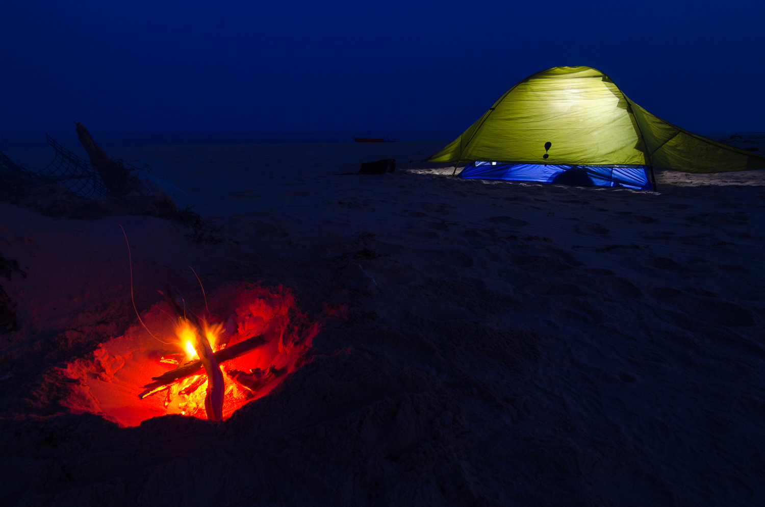 A Night at the Beach