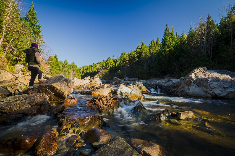 Hiking the Big Salmon River