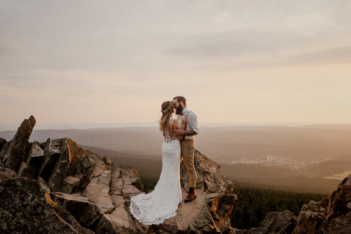 Leonie & Leonard — Boho Couple in the Harz Mountains
