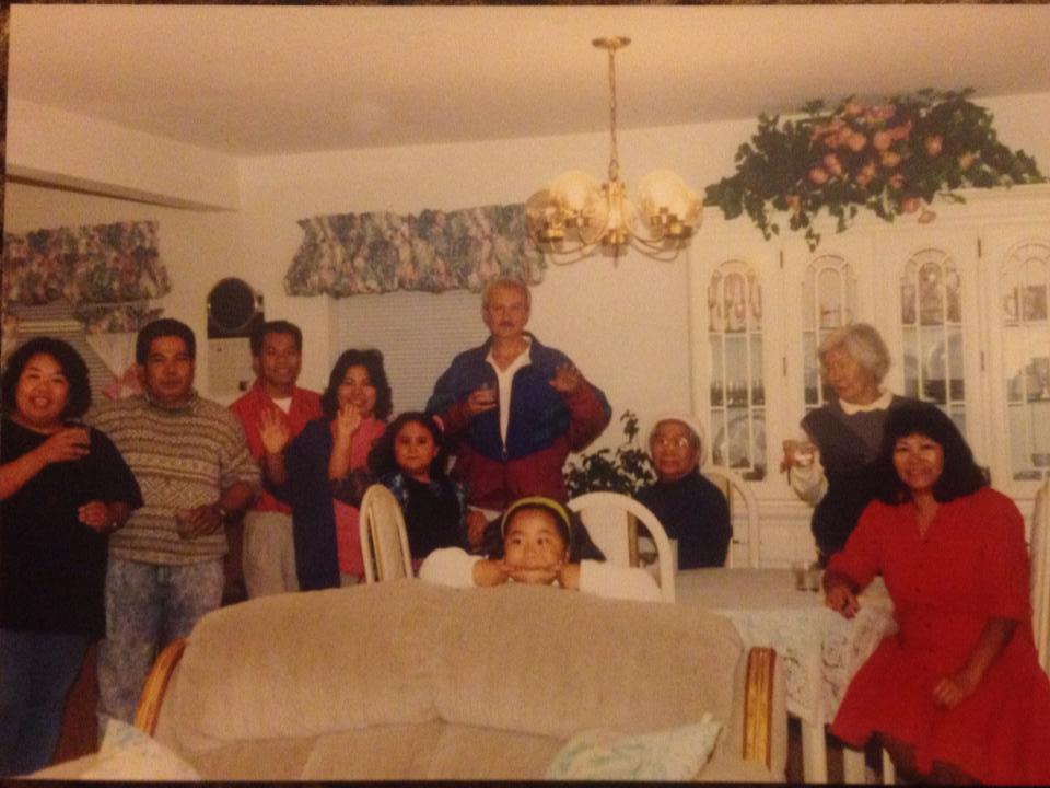 Mariano and Greening Family 1993.jpg