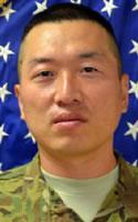 Army SPC Jinsu Lee, 34 - Chatsworth, CA/Aug 5