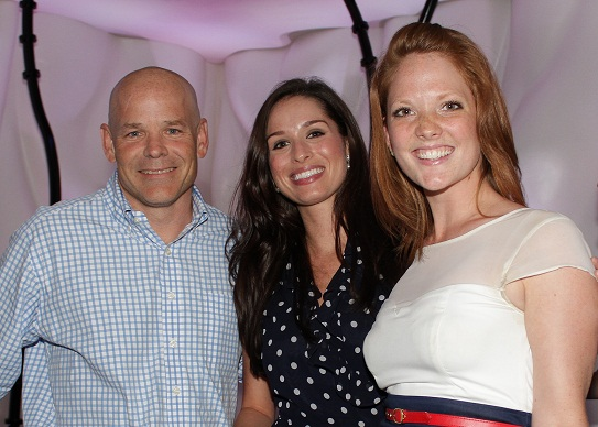 Mat Gulley, EVP of Global Trading at Franklin Templeton, his assistant Jacquie Mero and Annalee Thompson, Host and Organizers of the FTI Spring Event