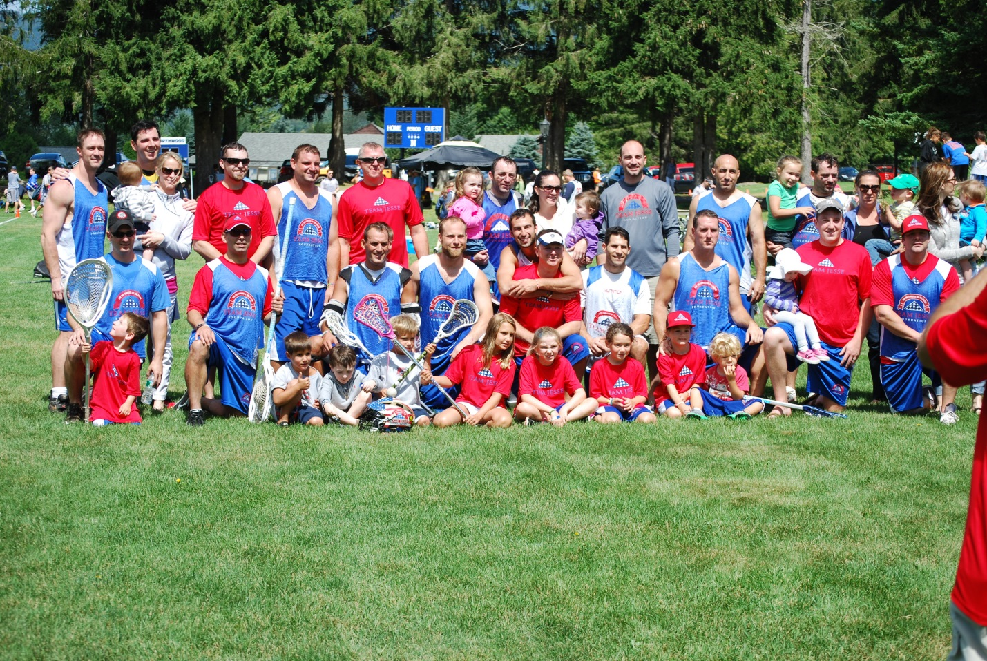 The Lake Placid Summit has also become an occasion to get many of the player's families together as well.