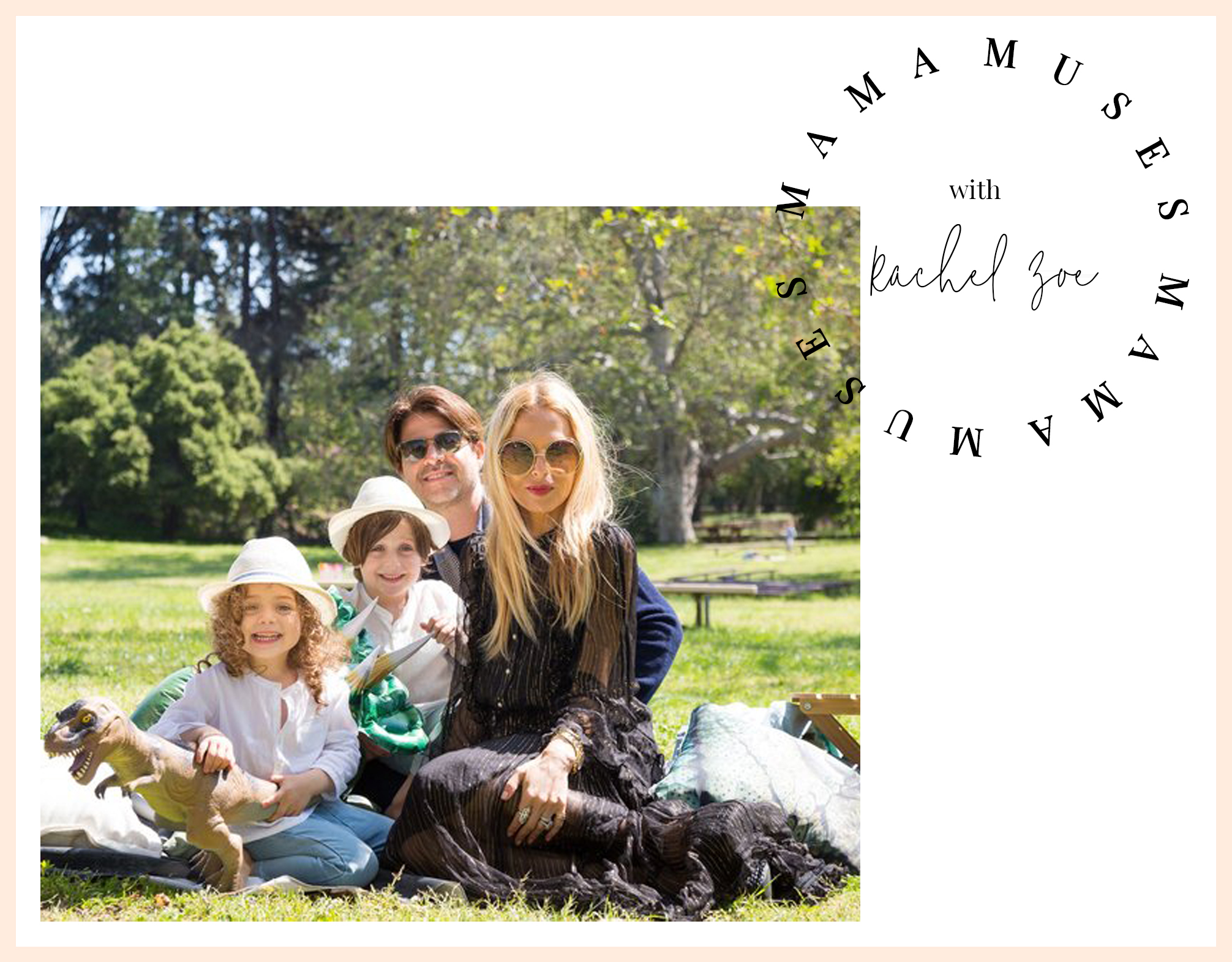 Mama Muses With Rachel Zoe Clothing Designer Your Zen Mama