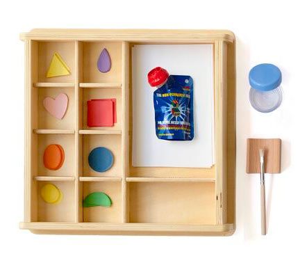 This gluing set is included in the  Monti Kids Level 8 subscription box for toddlers .