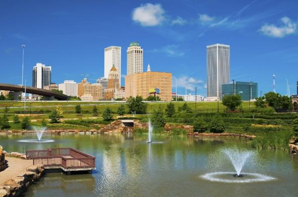 Blue Dome District, Tulsa, OK.