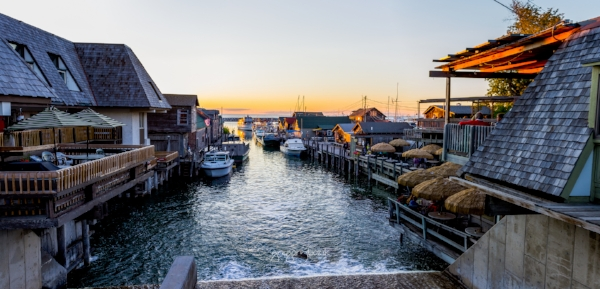 Fishtown Leland open sea photo
