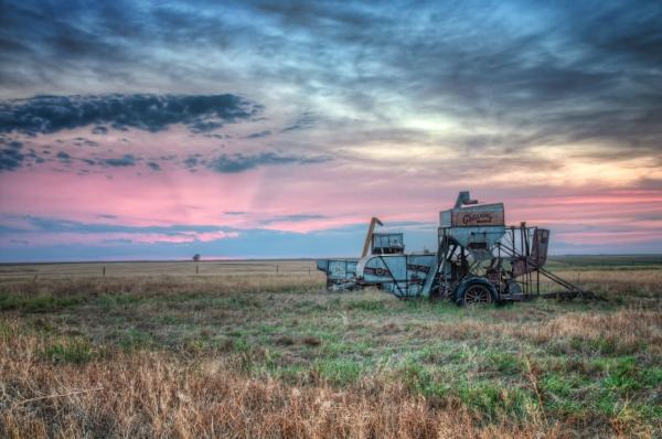 Western Kansas Sunset. Photo by Lane Pearman via  Flickr .