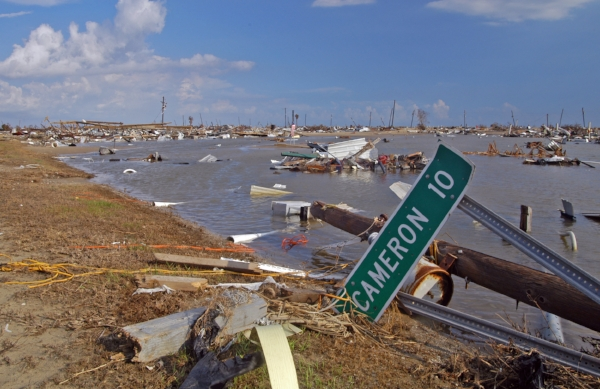 Aftermath of Hurricane Rita, Cameron Parish. Photo by Win Henderson via  FEMA Photo Library .
