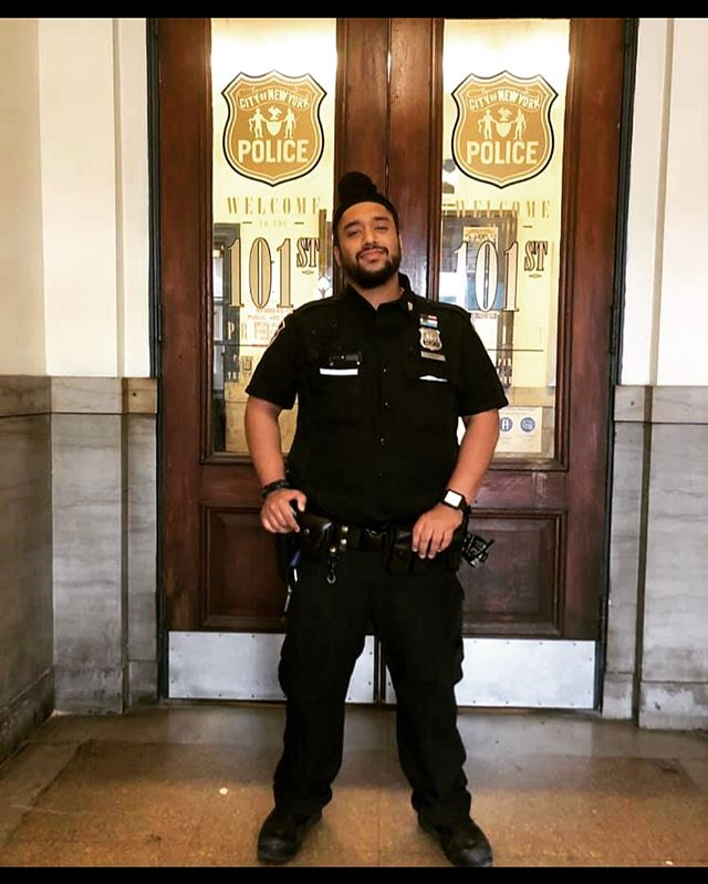 Excellent work and a job well done to our member P.O. Pargat Singh from the 101 Precinct in Queens South. His quick actions led to the arrest of an individual who shouldn't be on our streets. #sikhsinlawenforcement #queens #punjabi #101pct @nypd