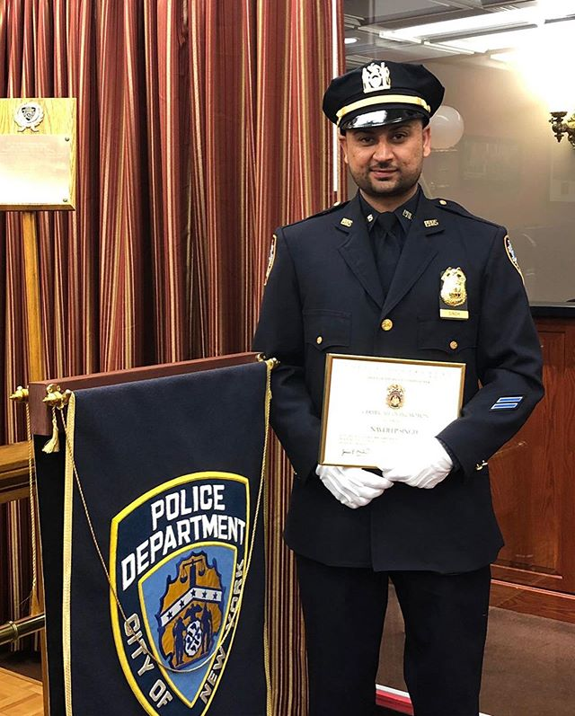 Congrats to our very own Executive Board member who was promoted to Sergeant this morning! Sgt Navdeep Singh! We wish you the best of luck in your new assignment and many more future promotions. #sikh #sikhsinlawenforcement  #sikhpride #sikhboss #nypd #punjabi  @nypd @ptc.network @juspunjabi