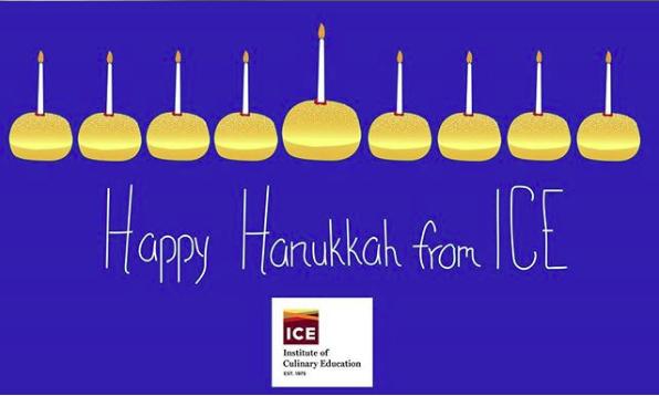 Happy Hanukkah from ICE!