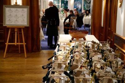 coordinating wedding - guest hampers