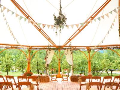 marquee wedding in Switzerland.