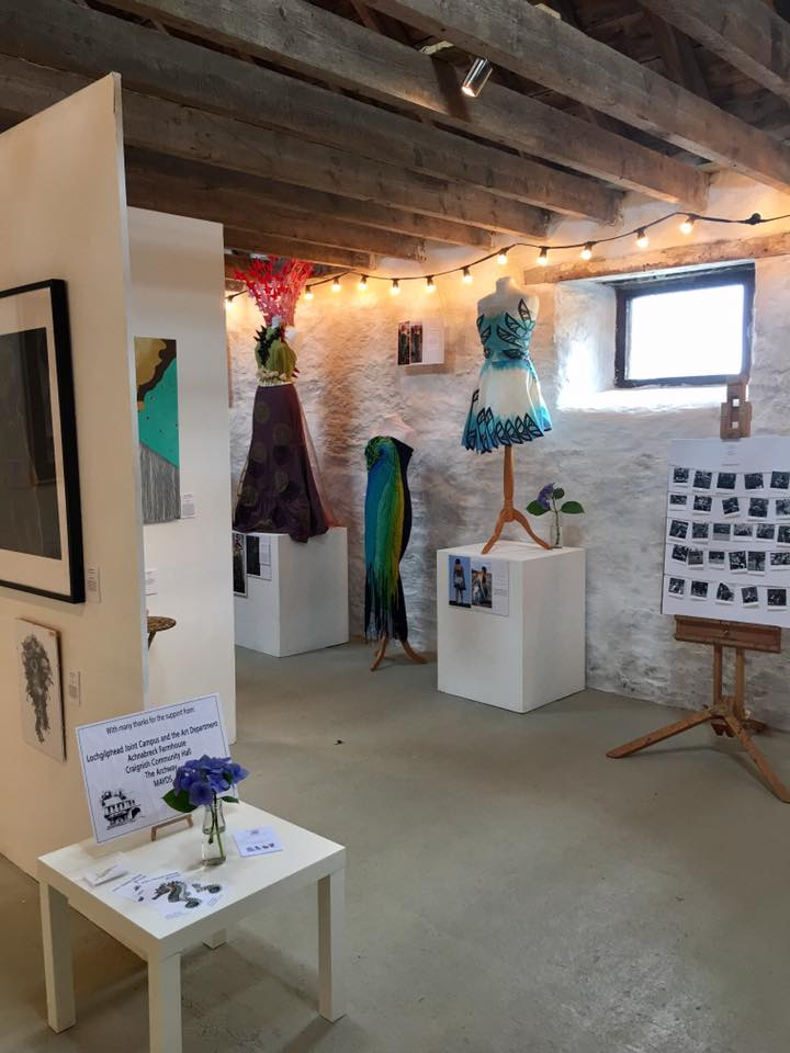 Creative Scotland supported exhibition curated by Beth & Holly