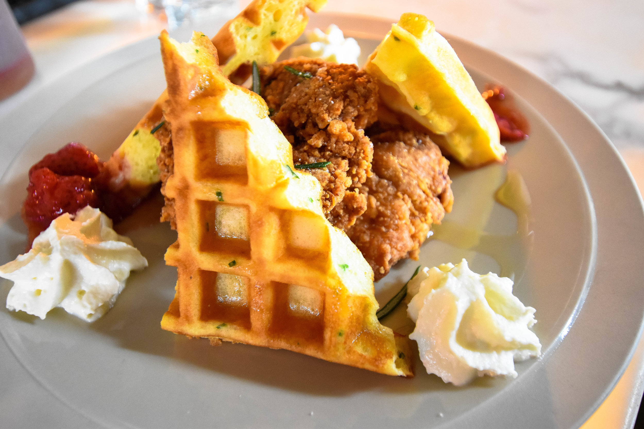 Devonshire - Chicken and waffles  (1 of 1).jpg