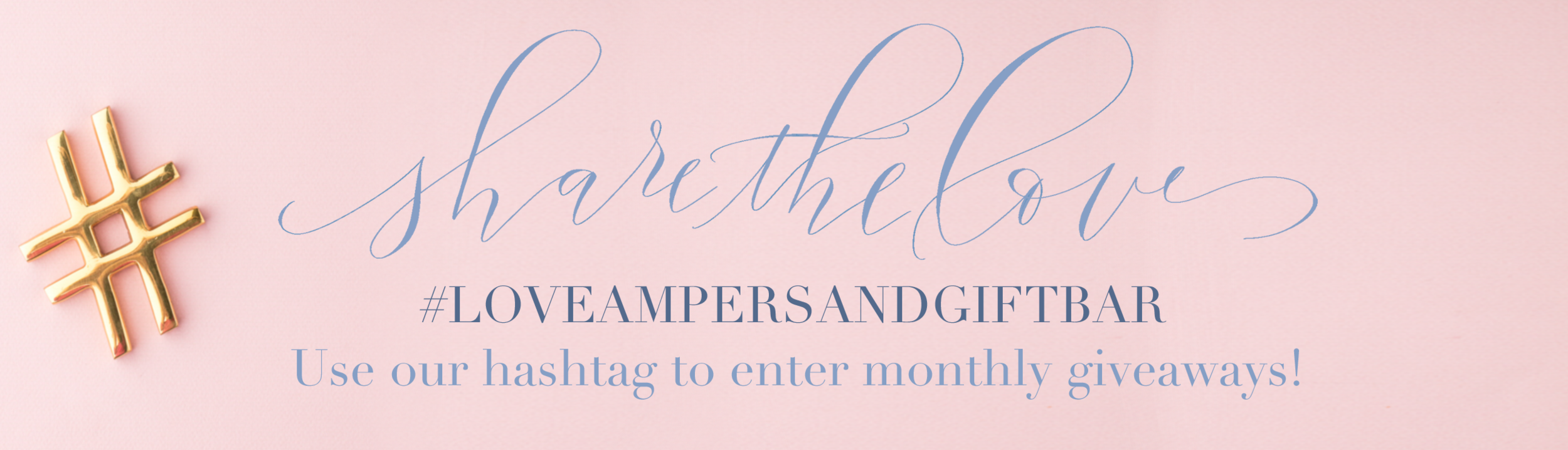 Ampersand gift bar #loveampersandgiftbar