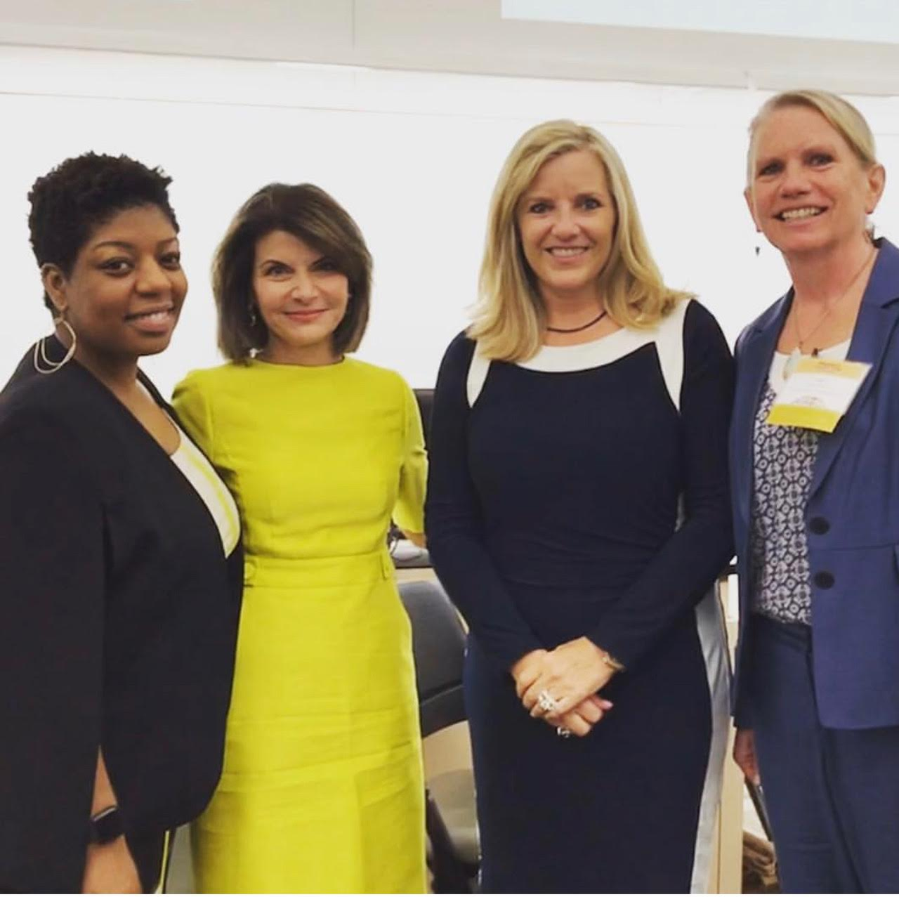 Seena Hodges, Archelle Georgiou, MD, Sheri Lewis, and Lori Reese Earley