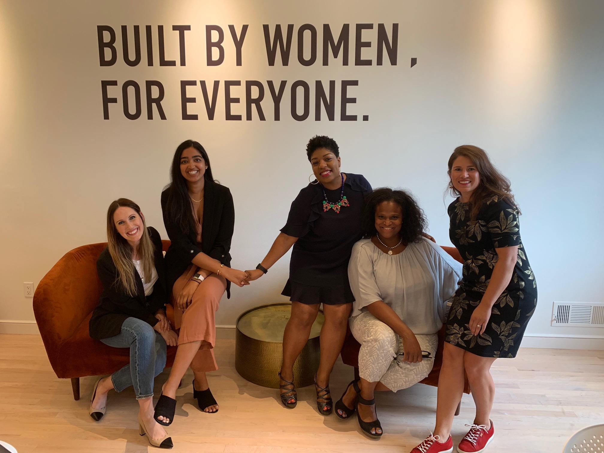 Sarah Grap (Mall of America), Raeesa Motala (Lee & Associates), Seena Hodges, Miquel McMoore (kpcompanies) and Anita Patel (Bush Foundation)