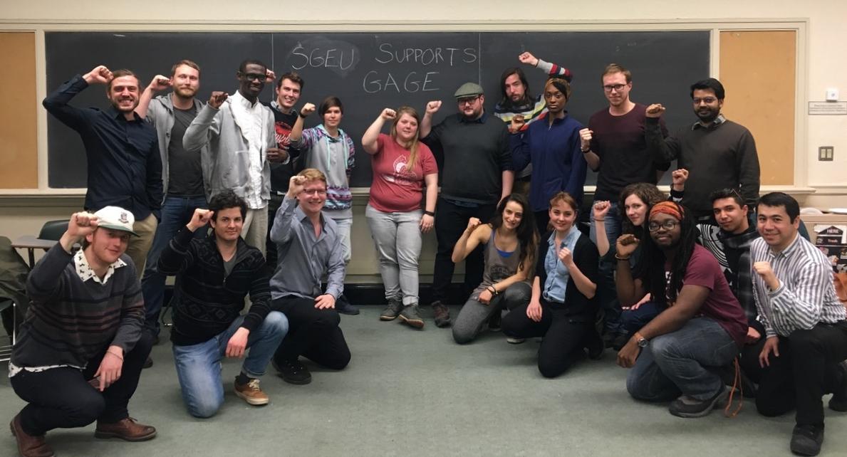 SGEU : Syracuse Graduate Employees Union