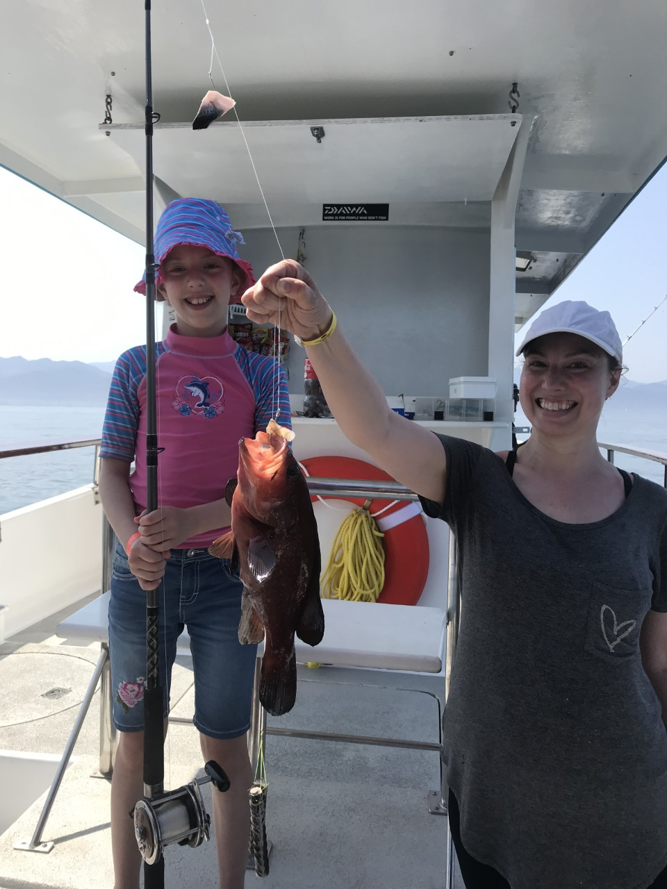 Mother and Daughter fishing Trip!