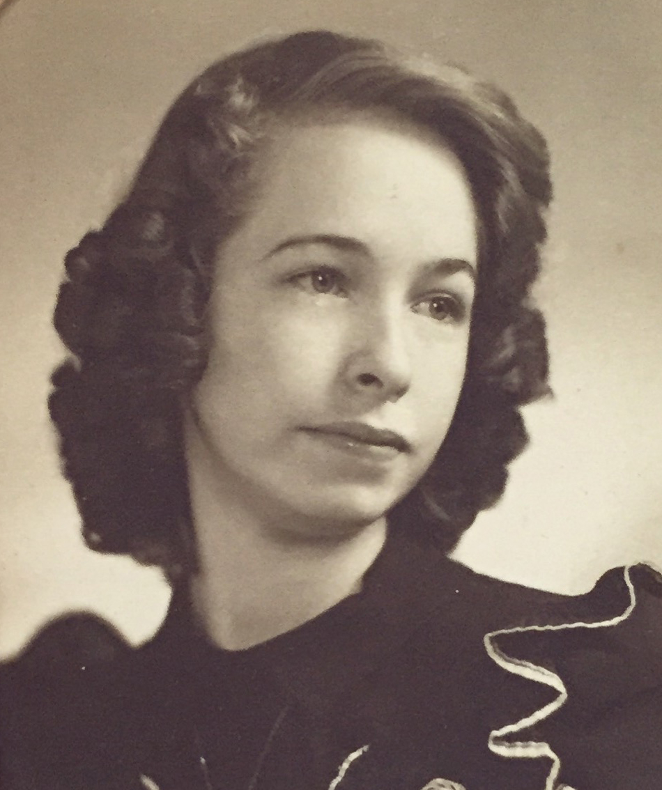 The inspiration behind HAUTE WANDA, Jonelle's grandma, Wanda Mull.