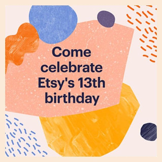 Happy birthday, Etsy! Buy any two items, get 25% off your entire purchase thru June 22nd. Link in profile📱 . . . #etsy #etsysale #hbdetsy #happybirthdayetsy #birthdaysale #25off #hautewanda