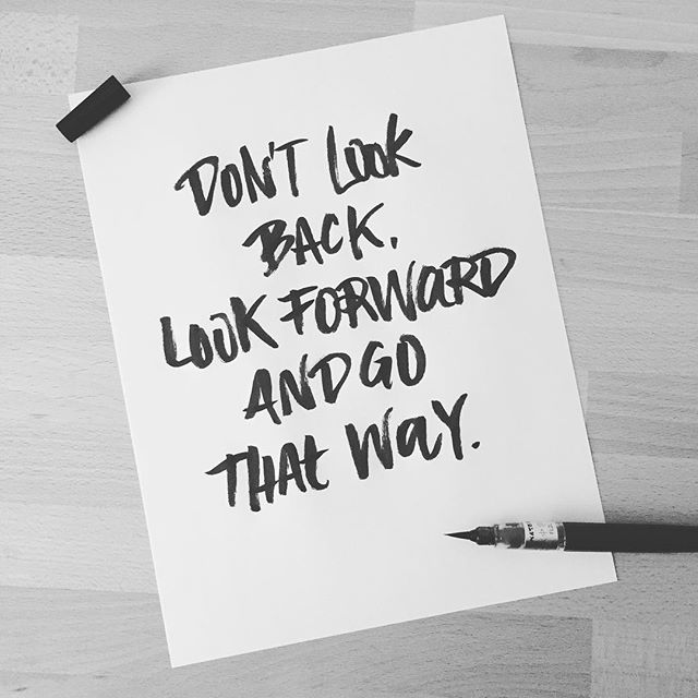 Let's give it a try... . . . #lettering #handlettering #brushlettering #brushtype #type #typography #brush #inspiration #keepgoing #forward