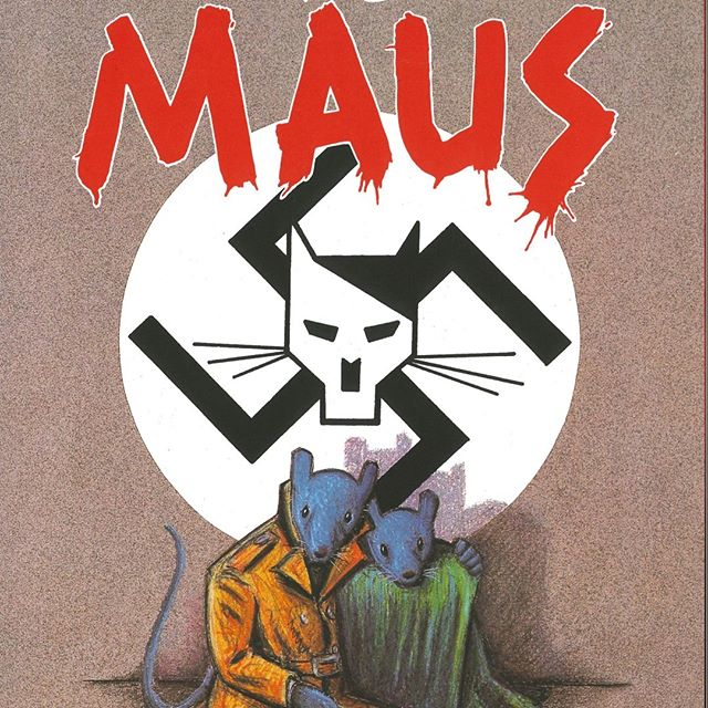 Come join the conversation! Our next Community Read book discussion on Maus is today at Lunenburg Public Library at 6:30PM.