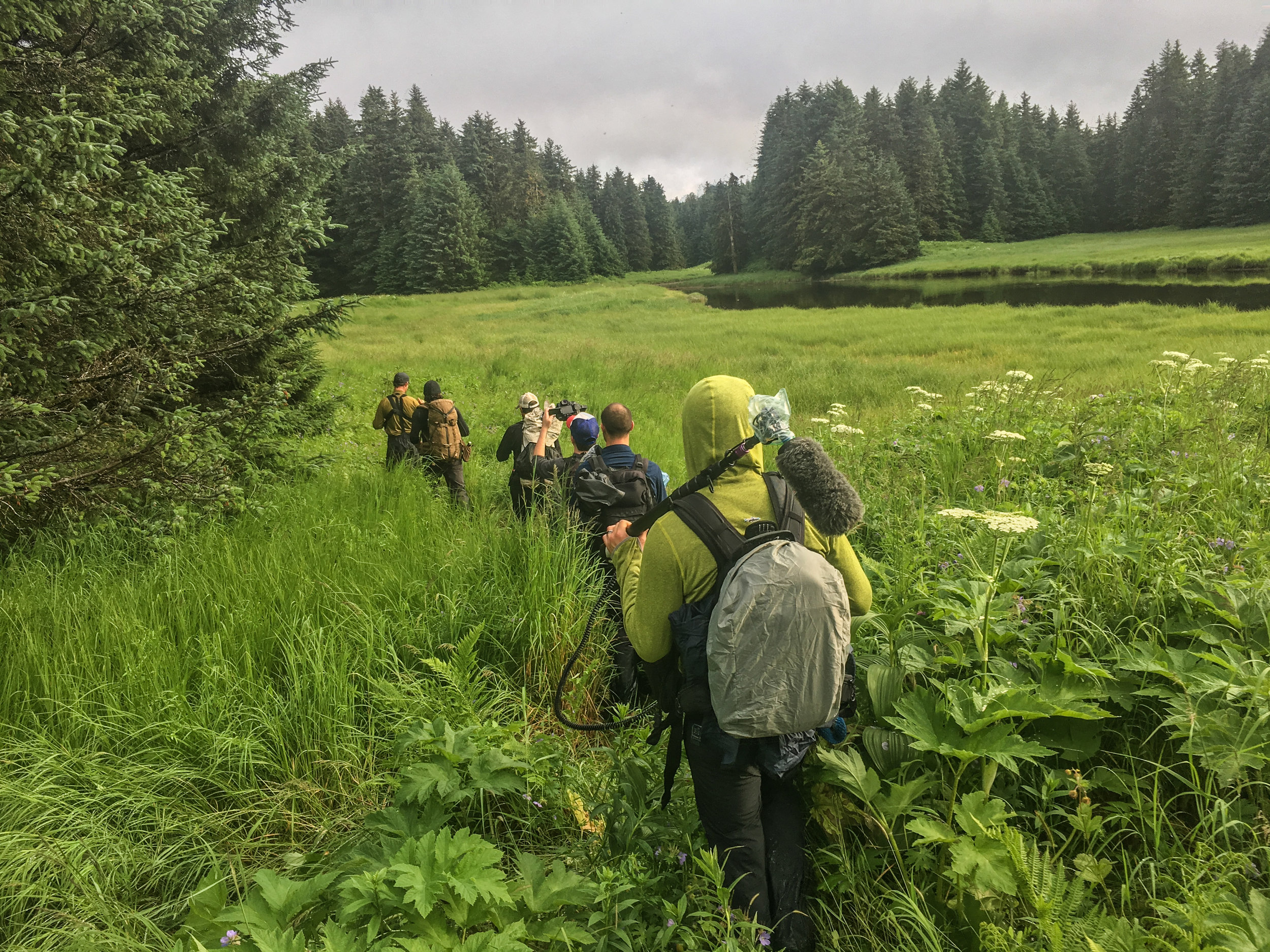 Trekking into the wilds of Alaska in search of furry animals.