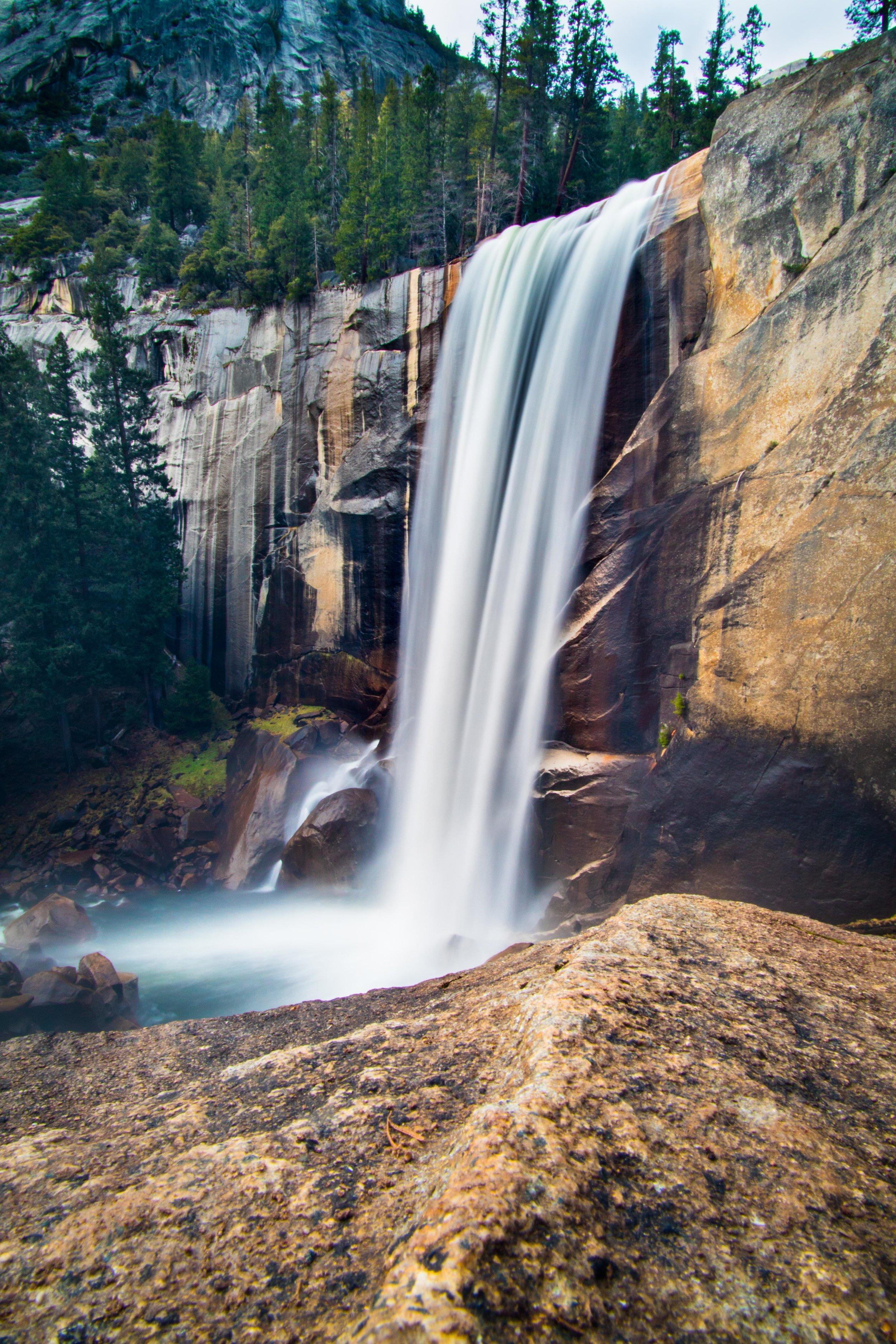 Long Exposure of Vernal Falls, Yosemite.