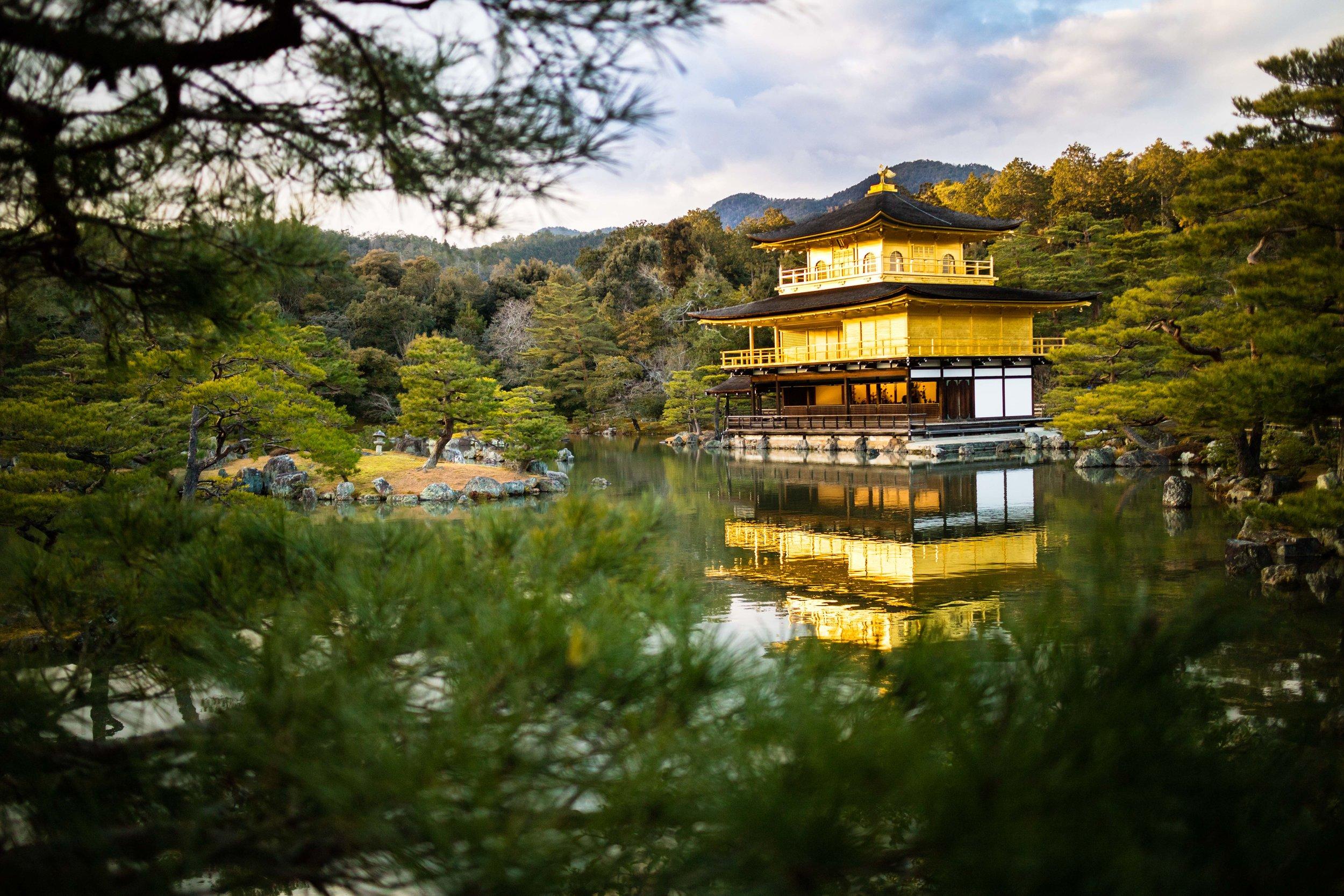 Kinkaku-ji, the Golden Pavillon, Kyoto.