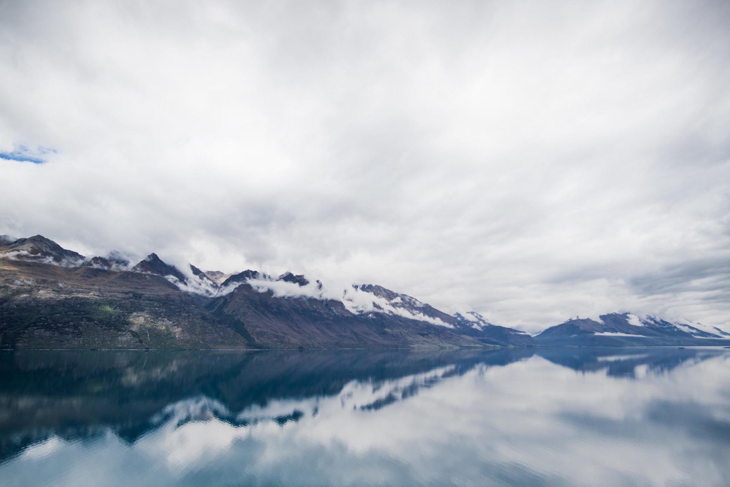 Reflections around Queenstown, NZ.
