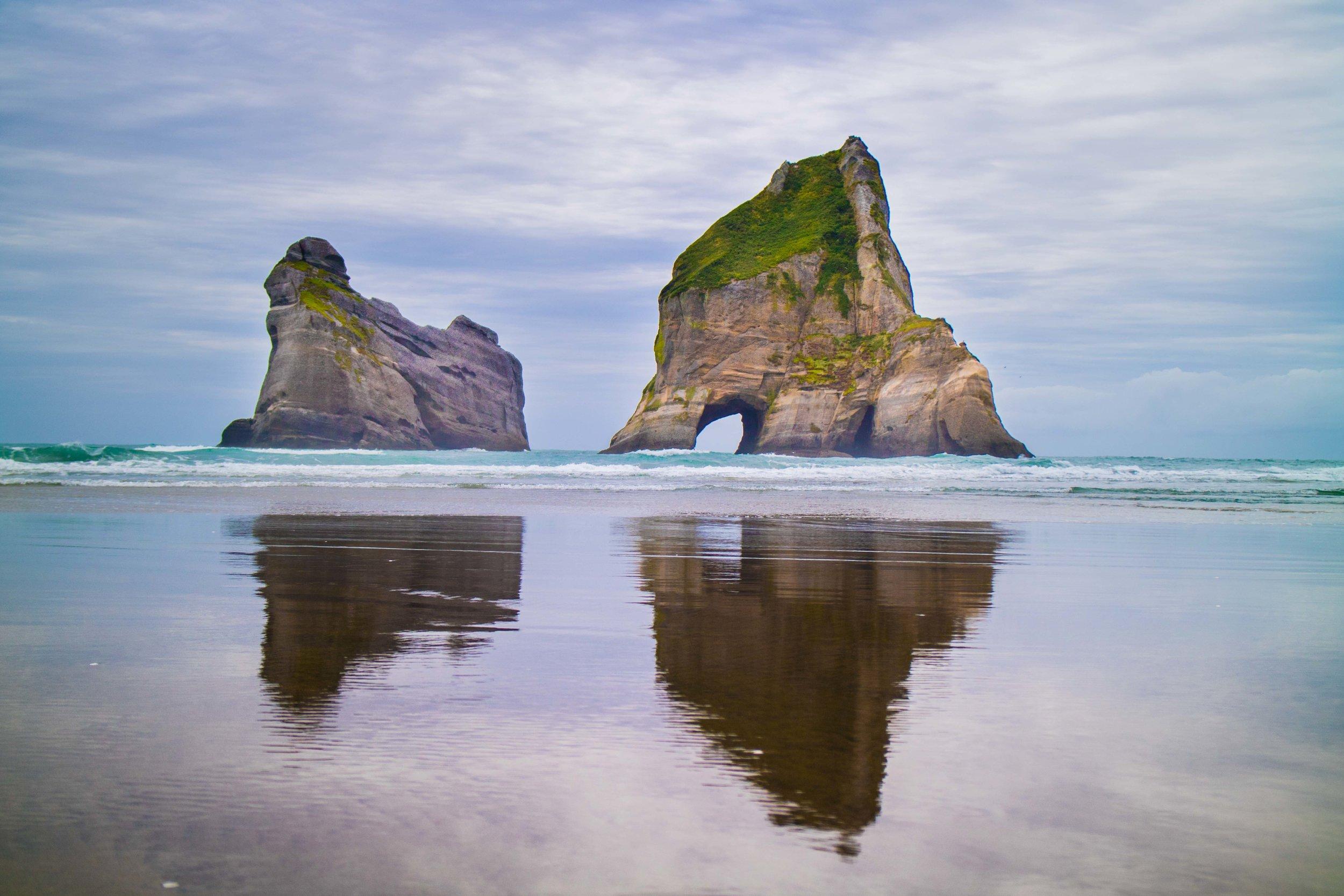 Wharariki Beach, NZ.
