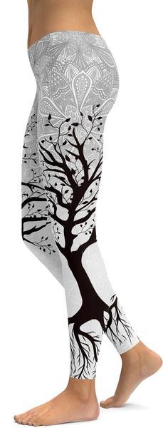 LIGHT TREE OF LIFE LEGGINGS - $87.99