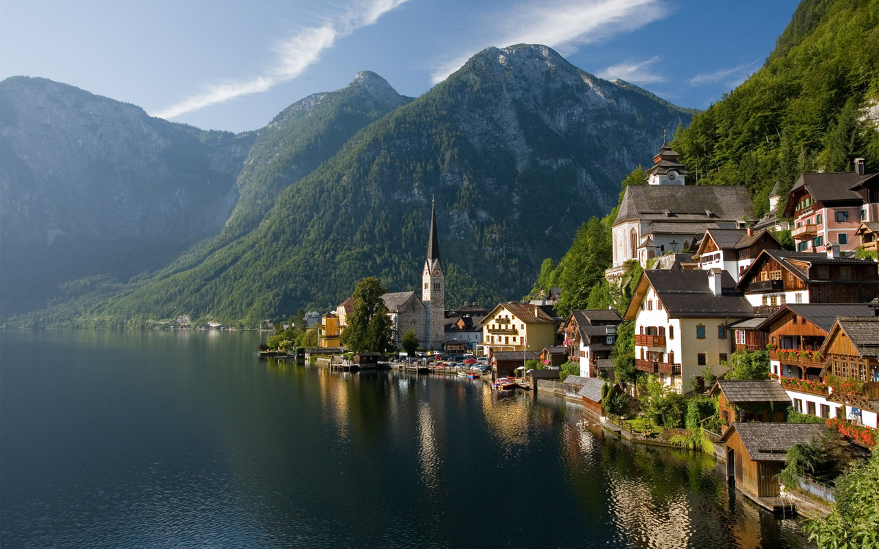 Hallstatt, Austria Photo:  Nick Csakany   Pinterest Inspiration