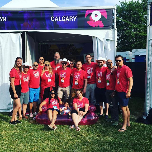 The #Calgary crew is BACK at #Startupfest! 😃 You'll find us flippin' 🥞 in the Lounge tomorrow morning from 8:30-10:30 & drinking 🍻during happy hour at 3pm tomorrow. YAHOO! #startupyyc
