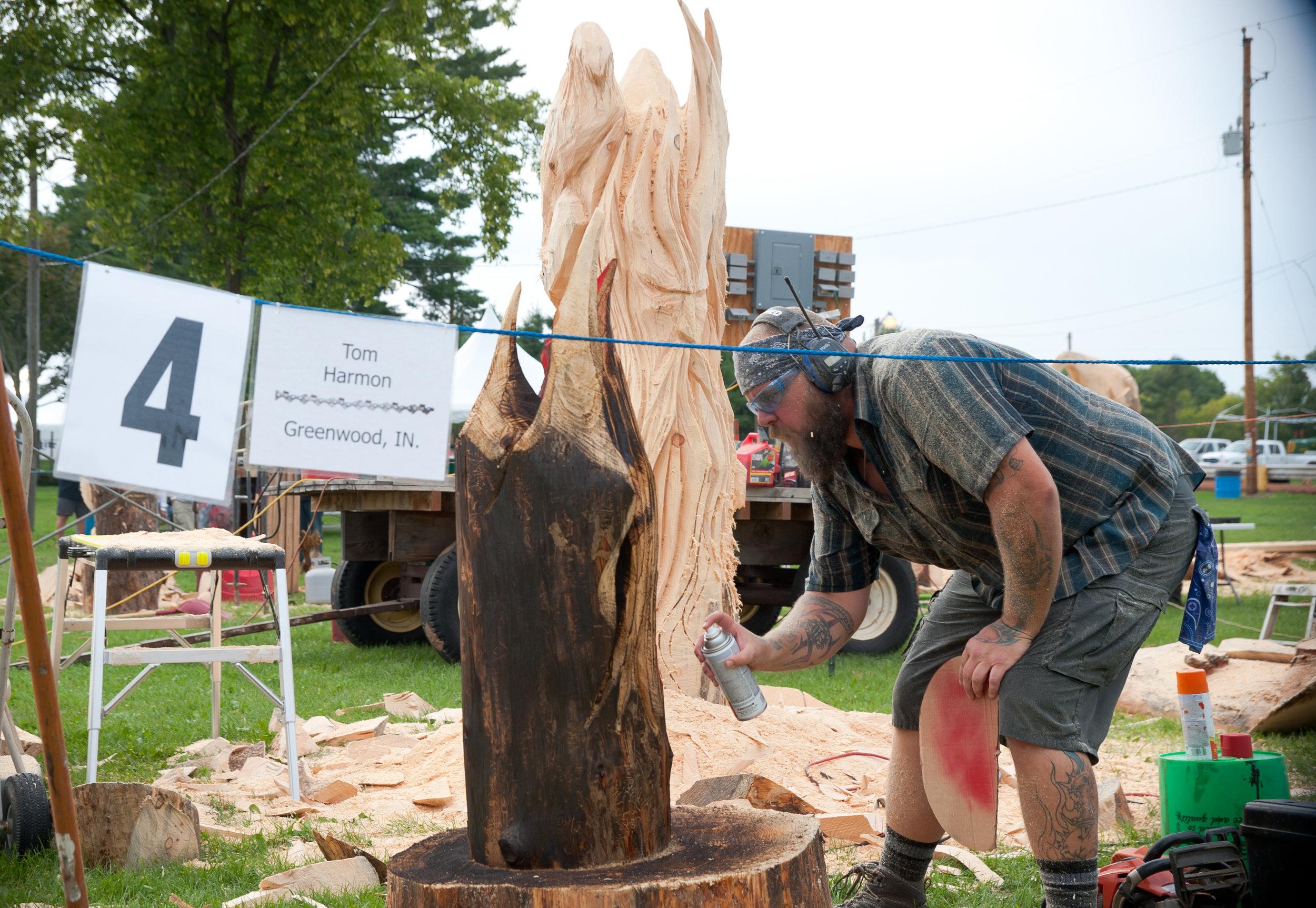 Wood Carving — Scandinavia Corn Roast