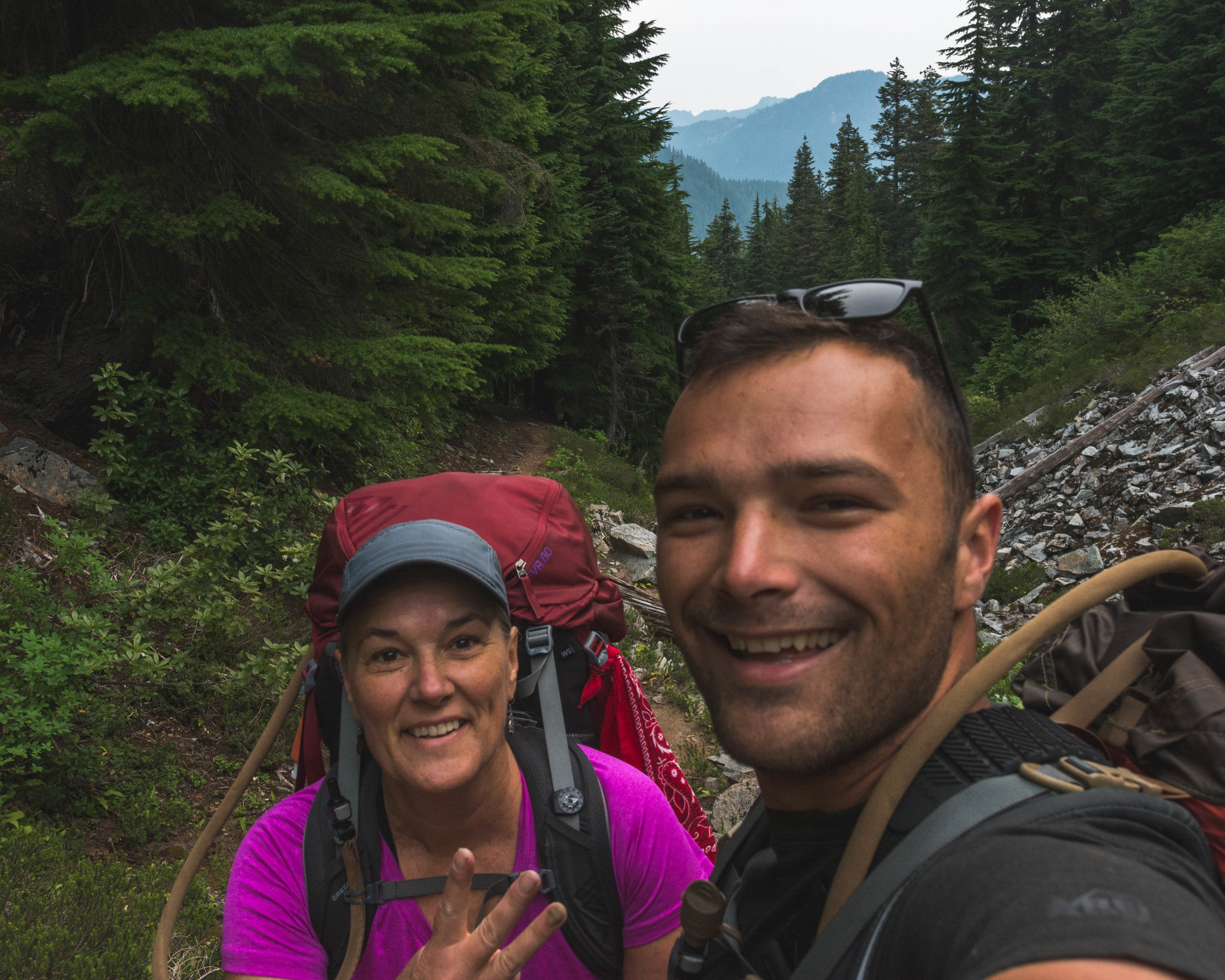 31JUL18 - Cataract Valley to S. Mowich River