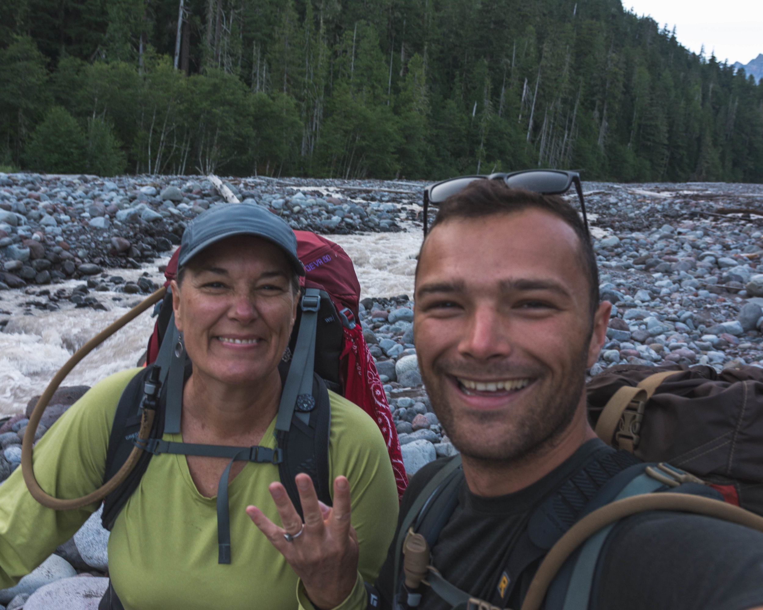 01AUG18 - S. Mowich River to Golden Lakes Camp